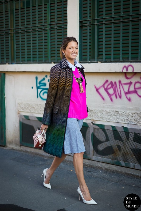 Milan Fashion Week FW 2014 Street Style - Helena Bordon before Missoni fashion show.jpg
