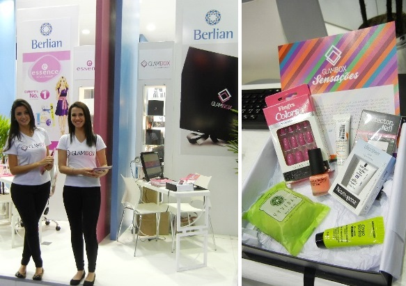 Beauty fair - stand glambox