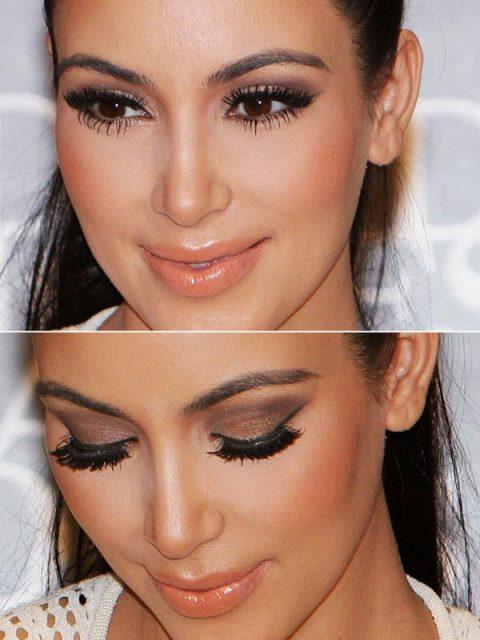 Kim kardashian maquiagem