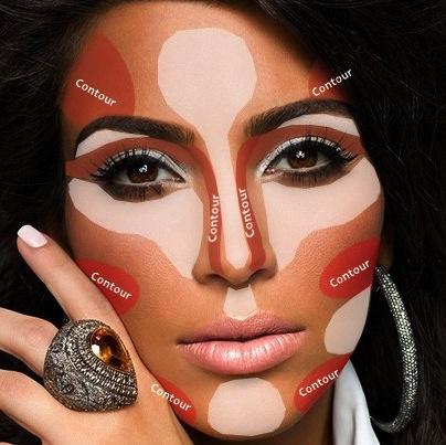 Kim kardashian contorno