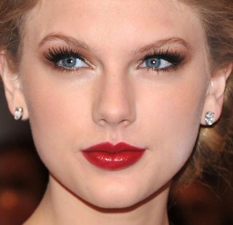 Taylor Swift maquiagem