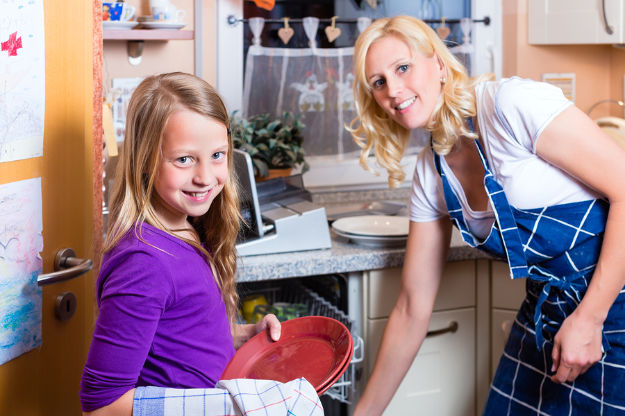 Turn daily chores with your children into connections and bonding opportunities