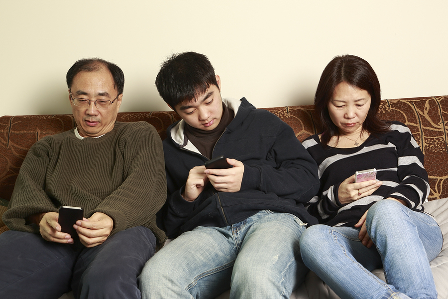 The world of technology - is it bringing the family closer?