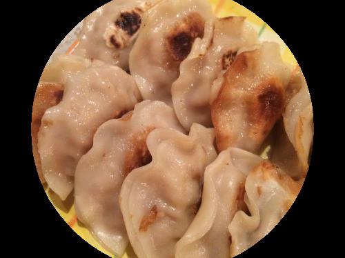 Simple easy pork dumpling
