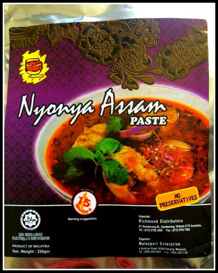 Nonya Assam Dish