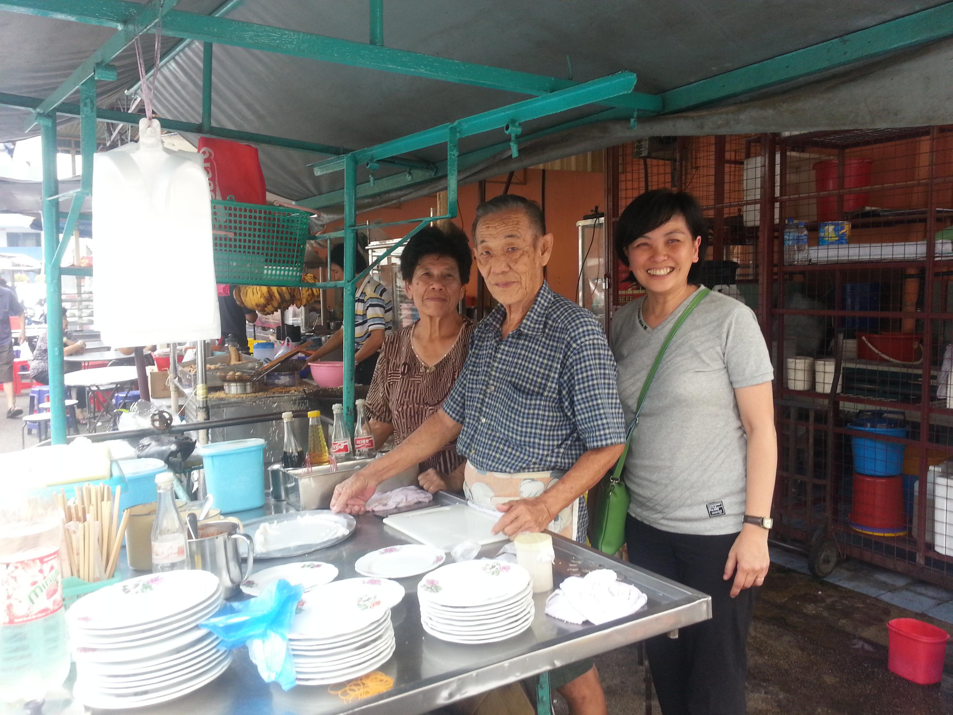 Penang Pulau Tikus market