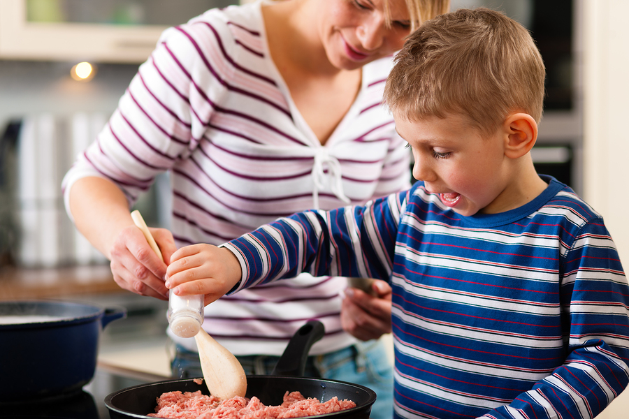 Connect with your children through cooking