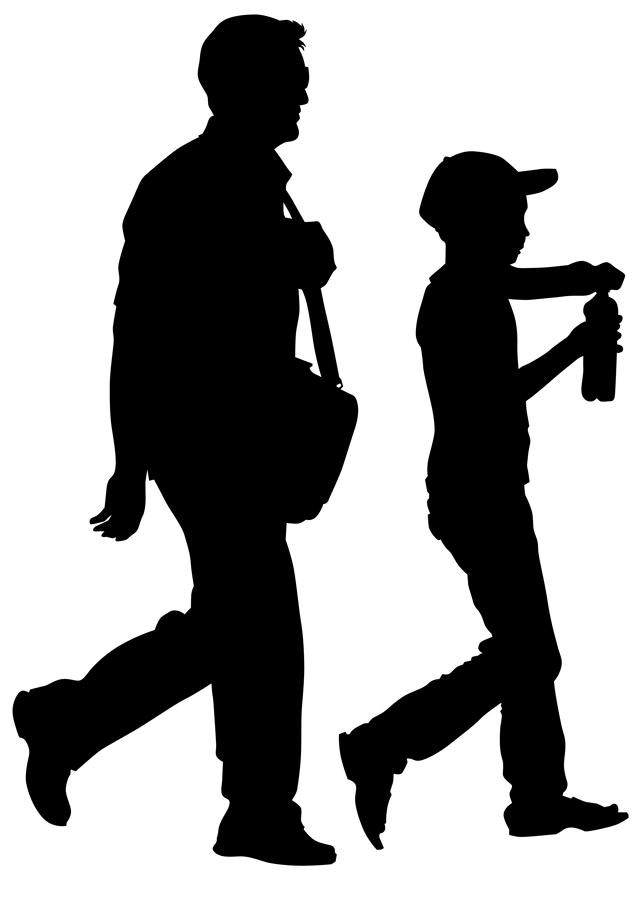Five benefits of walking your children to school