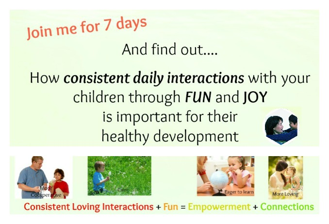 7 days to greater connection with your children