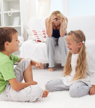 Your Children's Meltdown and your Internal Dialogue