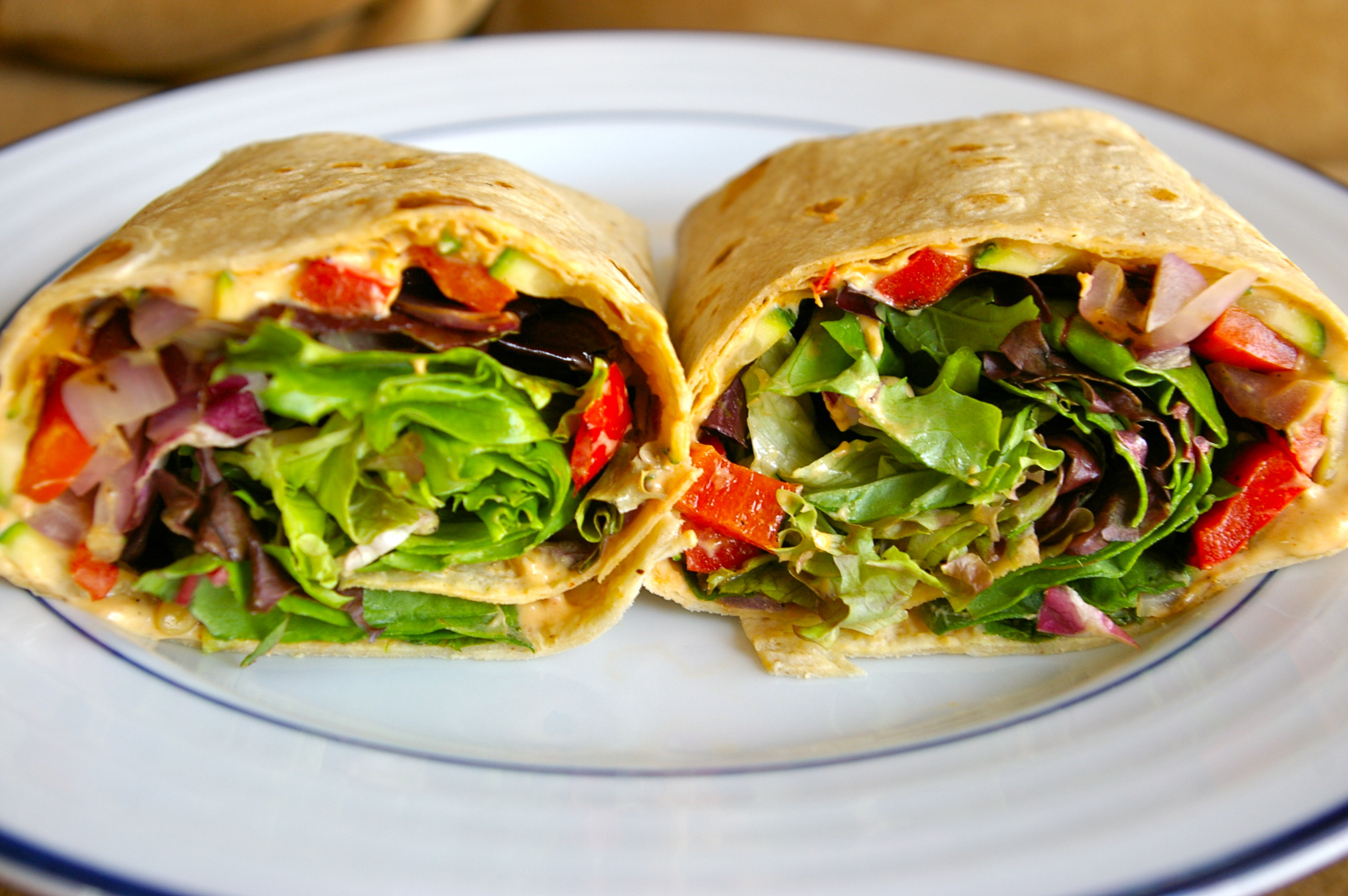 Garden Vegetable Wraps Recipes — Dishmaps