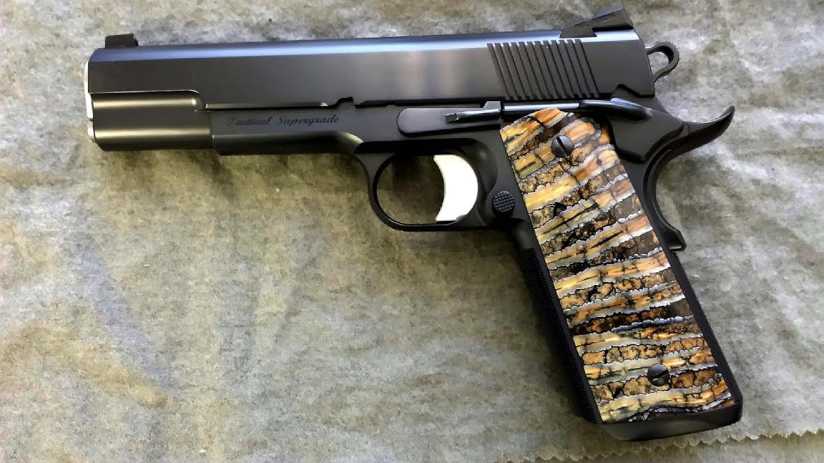 Stabilized mammoth tooth ivory for grips - 1911Forum