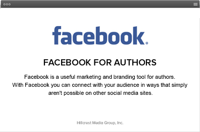 Facebook for Authors eBook