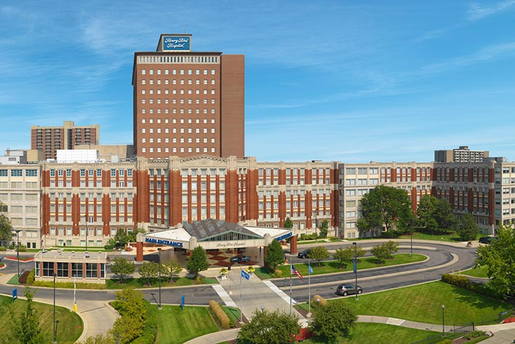 The Henry Ford Health System is among those conducting the clinical trial of the Harmony device.