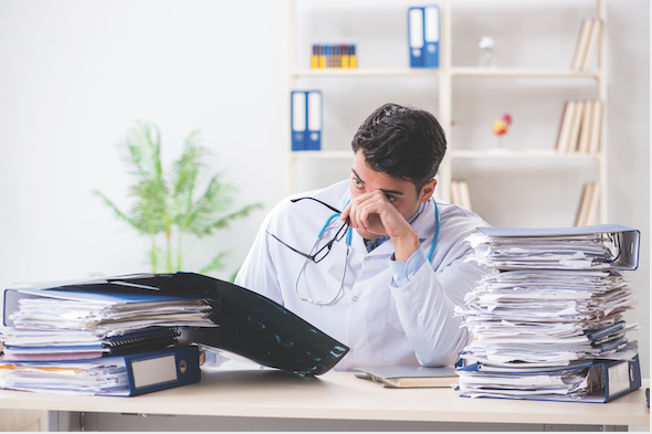 Figure 1. Post-COVID-19, if documents are lost or misplaced, or otherwise unusable, DME MACs have the flexibility to waive replacements requirements under Medicare such that the face-to-face requirement, a new physician's order, and new medical necessity documentation are not required.