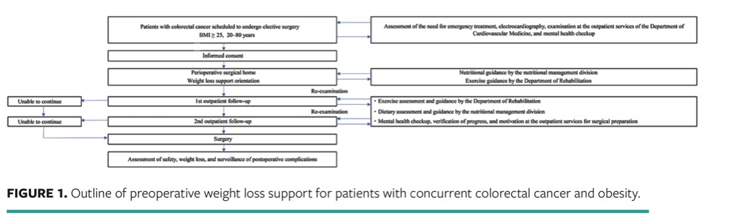 Providing Weight Loss Support To Patients Who Are Obese In Preparation For Colorectal Cancer Surgery To Reduce Surgical Site Infection Risk A Mixed Methods Study Wound Management Prevention