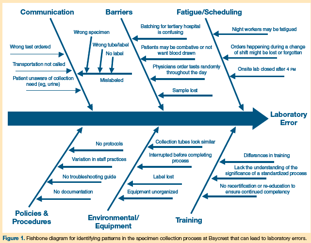 Improving the quality of specimen collection in long term care fishbone diagram ccuart Gallery