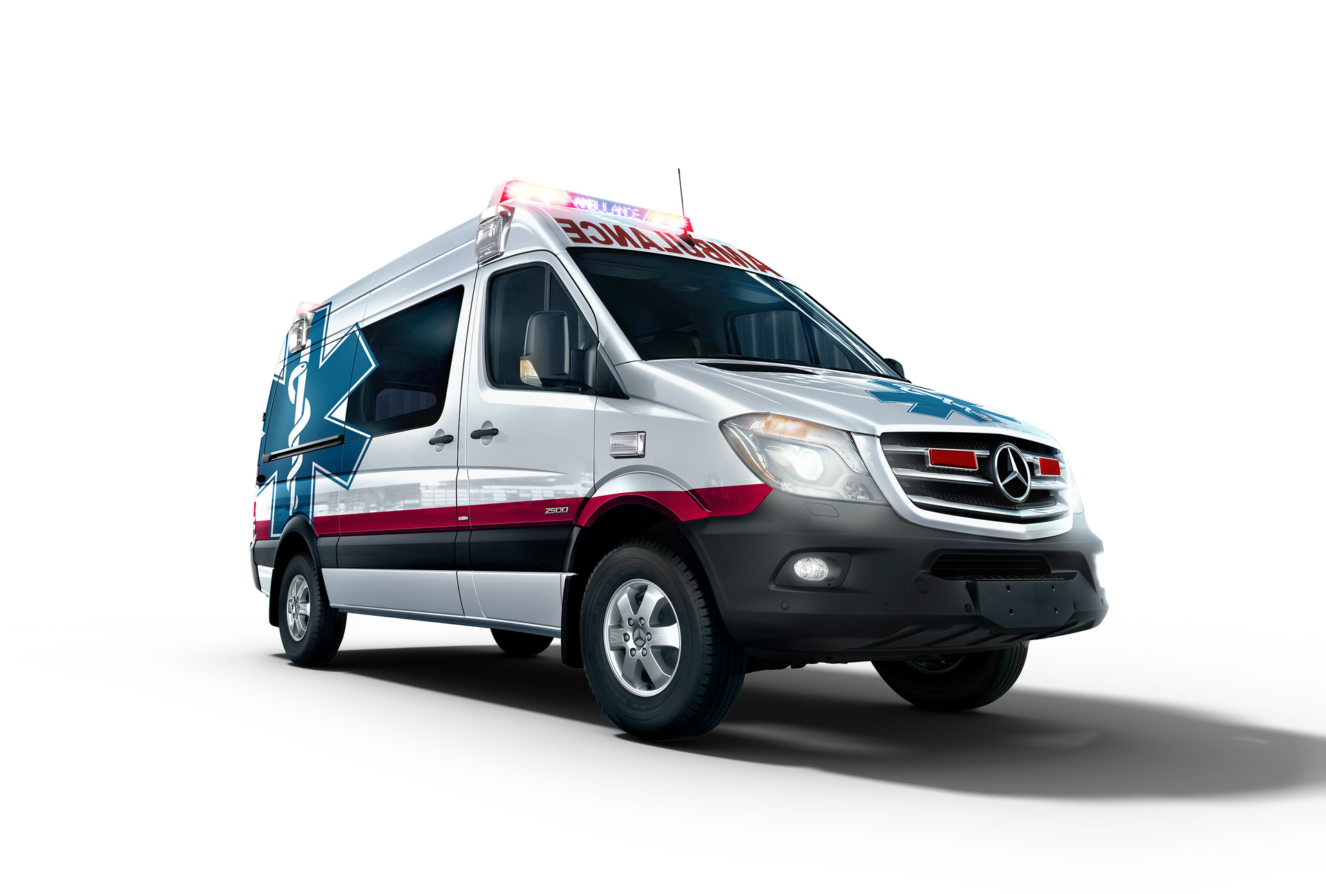 Mercedes benz sprinter ambulance ems world for Mercedes benz training and education