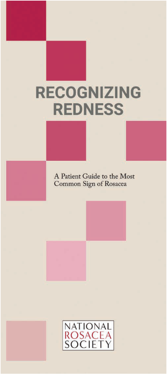 recognizing redness pamphlet cover
