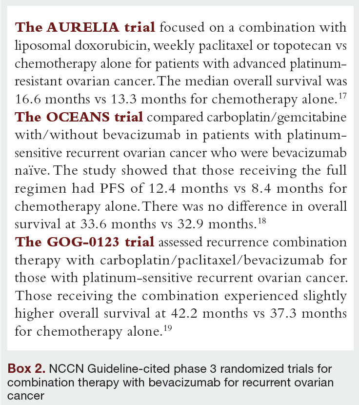 Overview Of The Updated Nccn Guidelines On Ovarian Cancer Journal Of Clinical Pathways