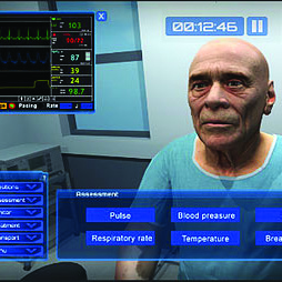 Virtual Education Systems VRpatient