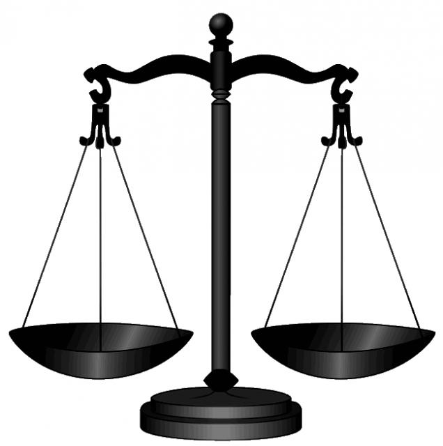 legal lesson justice scales