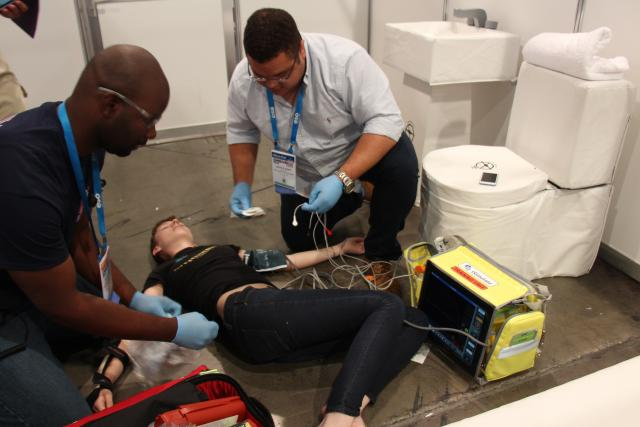 EMS World Expo clinical challenge 1