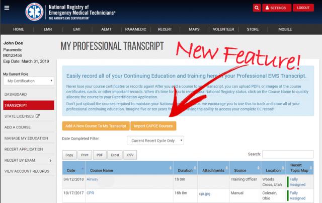 National Registry EMT Exam Study Guide - Cabrillo College