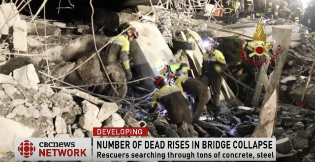 italy bridge collapse
