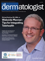 Dr Michael Sherling on Webside Manner: Tips for Integrating Telehealth for the June 2020 issue