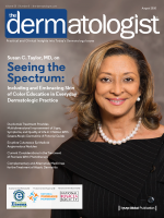 Dr Susan Taylor on the cover of the August 2020 issue