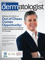 Dr Kirby on the cover of The Dermatologist