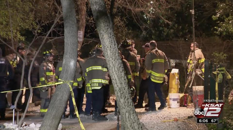 Tex. Firefighters' Training Comes in Handy During Cave Rescue of Teen