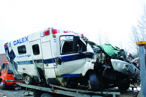 Ambulance Crash Roundup