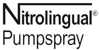 Afbeeldingsresultaat voor nitrolingual pompspray logo