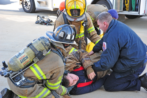 Firefighter Down How To Rapidly Remove Turnout Gear Ems