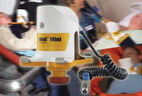 The Weil™ Mini Chest Compressor | EMS World