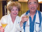Dr Fujita and his wife