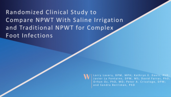 npwt with irrigation
