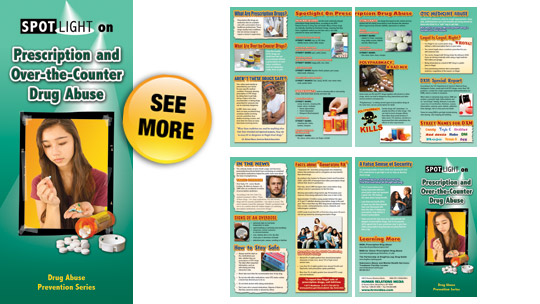 Spotlight On Prescription And OverTheCounter Drug Abuse Pamphlets