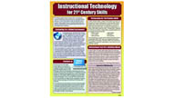 Instructional Technology in the 21st Century Laminated Reference Guide
