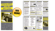 Distracted Driving: What You Need to Know Pamphlets