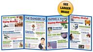 Dangers of Vaping Folding Display