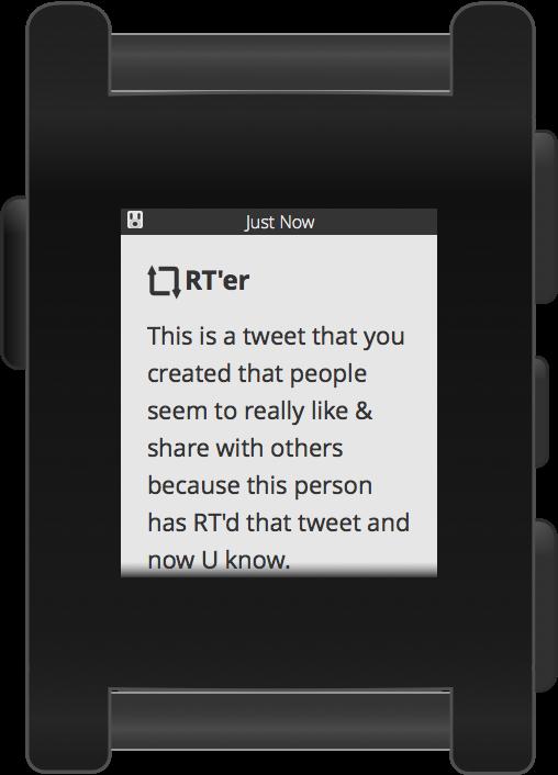 Pebblebot RT Screen