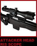 A spiked attacker head scope with Rails