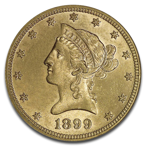 Buy U S Liberty 10 Dollar Gold Coins Online Money Metals
