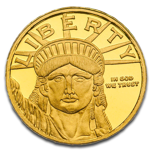 Buy 1 10 Oz Lady Liberty Gold Rounds Online Money Metals