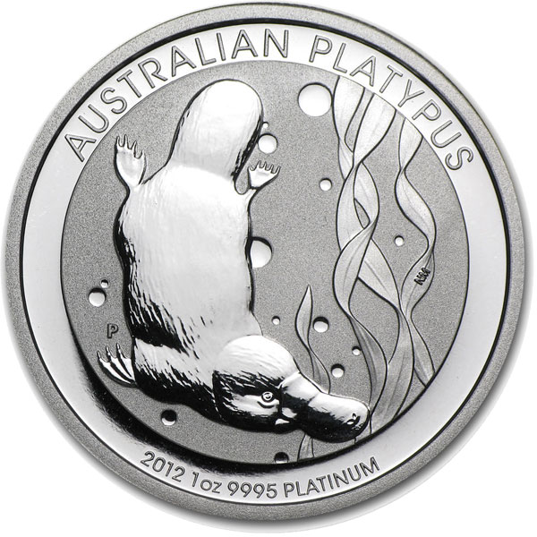 Buy 1 Oz Australian Platinum Platypus Coins Perth Mint