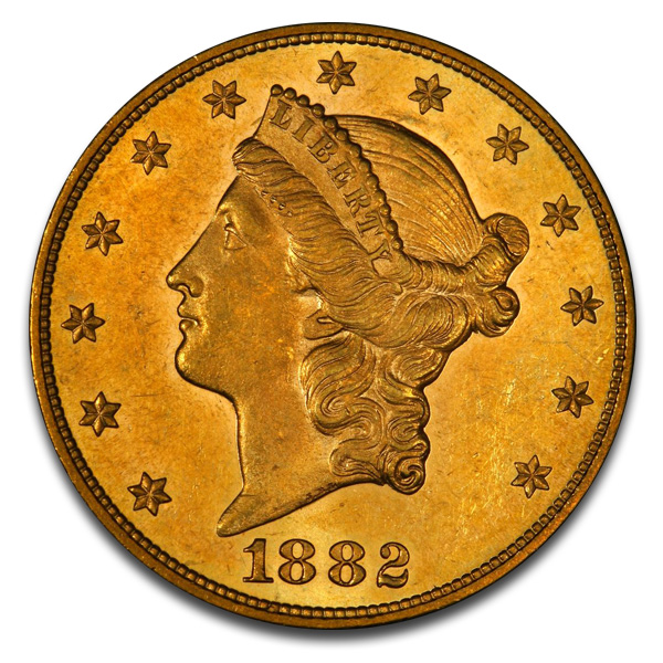 Buy $20 Liberty U.S. Gold (1849-1907) Coins