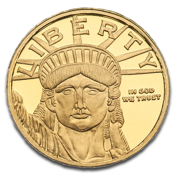Buy Lady Liberty Gold Round (1/10 Oz) Coins